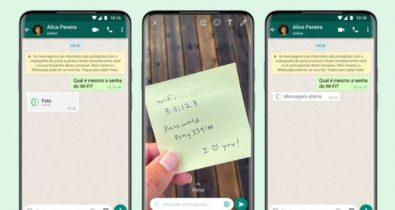 WhatsApp lança novo recurso de visualização única; saiba como usar