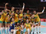 Seleção brasileira de vôlei feminino vence Quênia