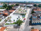 Praça Mestre Antônio Vieira é inaugurada no bairro Monte Castelo