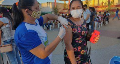 Arraiais da Vacinação contra a Covid-19 são levados a mais municípios maranhenses
