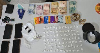 Casal é preso por tráfico de drogas em Caxias