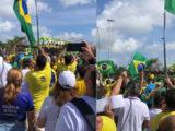 Manifestantes maranhenses fazem ato em defesa do presidente Bolsonaro e do voto impresso
