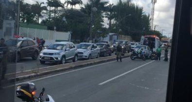 Acidente de trânsito é registrado na avenida São Luís Rei de França