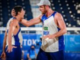 Alison e Álvaro vencem mexicanos e vão quartas do vôlei de praia