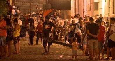 Noite de domingo é marcada por assaltos e arrastões no Centro Histórico de São Luís