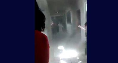 VÍDEO: princípio de incêndio é registrado no hospital Socorrão em Imperatriz