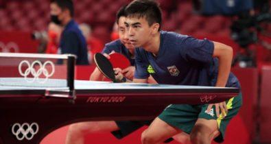 Tênis de mesa brasileiro vai às quartas por equipes e reforça boa fase