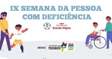 Semana da Pessoa com Deficiência tem programação em São Luís e interior do estado