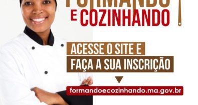 Projeto do Governo para profissionais da cozinha tem inscrições abertas