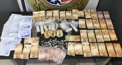Dupla é presa suspeita de tráfico de drogas e participação em facção criminosa no Maranhão