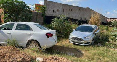 Três veículos roubados são recuperados pela polícia em São Luís e Imperatriz