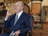 Ex-presidente José Sarney (MDB) defende o parlamentarismo