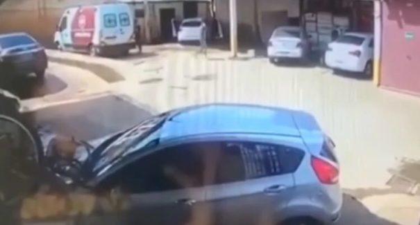 VÍDEO: homens armados roubam lava jato em Imperatriz