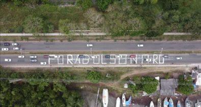 Ato contra Bolsonaro é realizado em São Luís