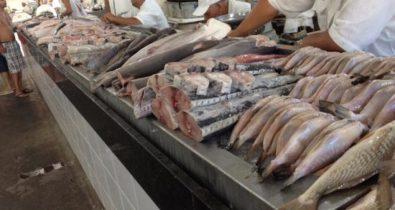 Grande prejuízo no mercado de pescados