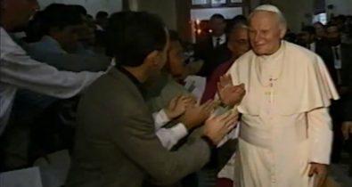 Registros da visita histórica do Papa é divulgado pela FMRB