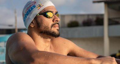 Maranhense Frederico Castro disputa evento de natação na França