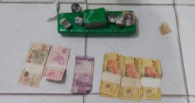 Homem é preso em flagrante com mais de 1 kg de maconha em residência