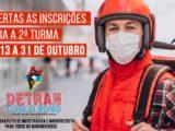 Detran-MA abre inscrições para segunda turma dos cursos online de mototaxista e motofretista