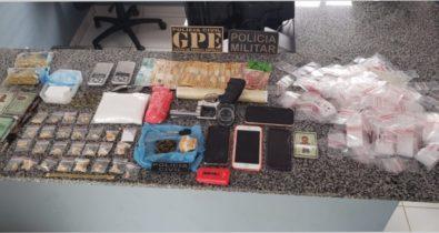 Dupla é presa por tráfico de drogas em Itinga