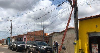 Três pessoas são presas suspeitas de furto de energia em Paço do Lumiar