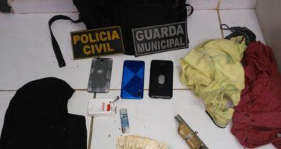 Polícia Civil apreende adolescente por assalto em Ribamar