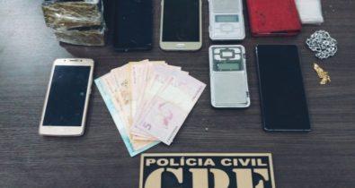 Quatro pessoas são presas por tráfico de drogas em Imperatriz