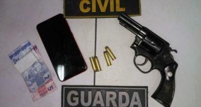 Dupla é presa por porte ilegal de arma em São José Ribamar