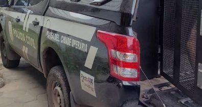 Dois mandatos de prisão por tentativa homicídio são cumpridos contra internos da FUNAC