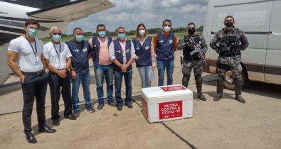 Maranhão recebe mais de 171 mil doses para aplicação da terceira dose contra Covid-19