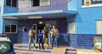 Suspeito de feminicídio no Maranhão é preso em Pernambuco