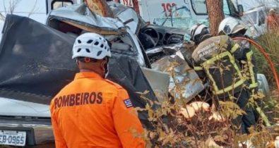 VÍDEO: Grave acidente na MA-034 deixa vítima fatal