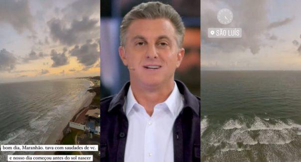 Luciano Huck faz visita surpresa ao Maranhão