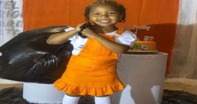 VÍDEO: Menina de 4 anos comemora aniversário com agentes de limpeza de São Luís