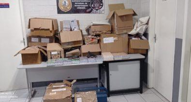 Polícia apreende carga de anabolizantes avaliada em R$ 800 mil em São Luís