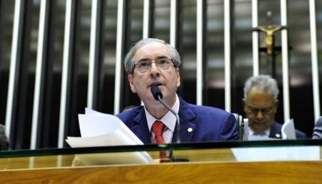 Eduardo Cunha questionou se a Presidência da República irá também adotar a pauta do PT e a da Central Única dos Trabalhadores (CUT) na votação do ajuste fiscal