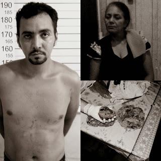 Existem suspeitas de canibalismo. A polícia não descarta a existência de outras vítimas em cidades por onde o acusado tenha passado