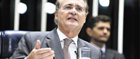 Governo da presidente Dilma Rousseff está nas mãos de Renan Calheiros