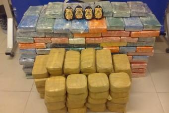 PF apreende 250 kg de cocaína em Dom Pedro no Maranhão