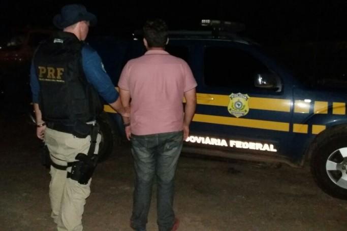 Vereador de Pedro do Rosário é preso com picape roubada na BR 316