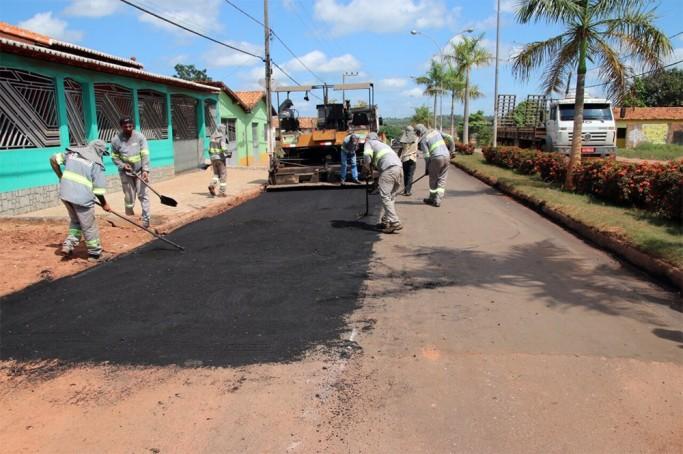 Recuperação da rodovia MA-125 chega ao perímetro urbano de Cidelândia