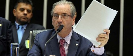 """Eduardo Cunha diz que servidores da Câmara são """"grupamento do PT"""""""