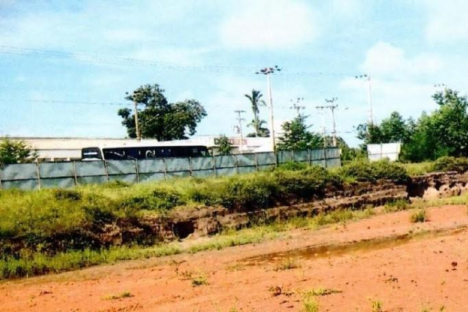 Terreno onde deveria ter sido construído um hospital em Rosário