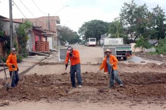 Obras Interbairros no São Cristovão