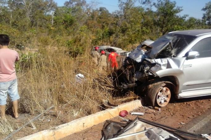 Acidente grave na BR 395 resulta na morte de três pessoas