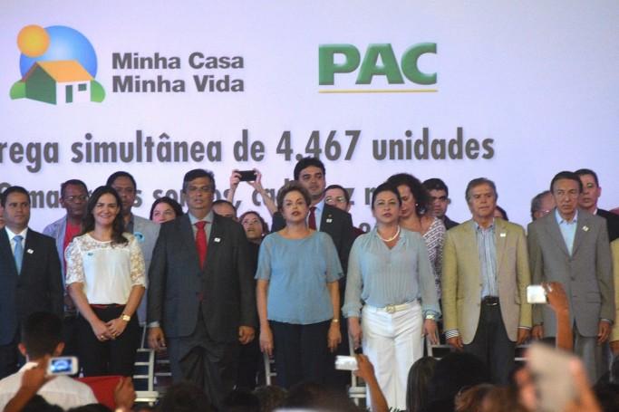 Visita de Dilma ao Maranhão