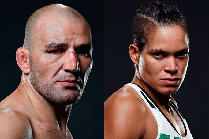 Vitoriosos no UFC em Nashville, Glover Teixeira e Amanda Nunes melhoram posição no ranking da organização