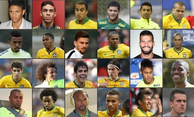 5d821be24aec5 Confira a ficha técnica dos convocados para Seleção Brasileira de ...