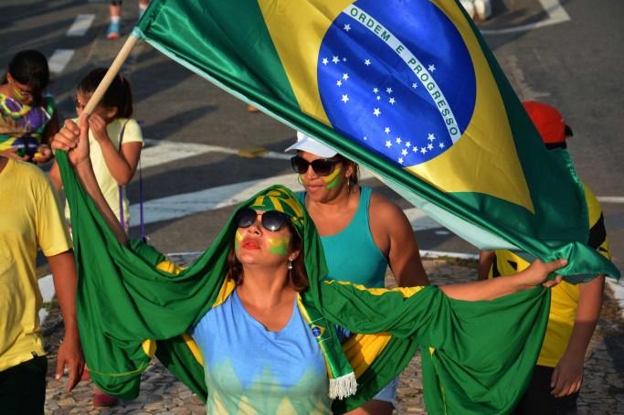 Marcha Brasil contra a Corrupção, manifestações do dia 16 de Agosto de 2015