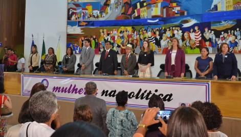 Flávio Dino defende aumento da participação feminina na política
